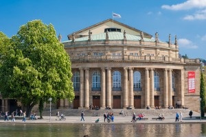 Opernhaus im Schlossgarten Stuttgart