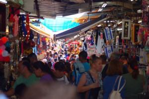 Markttreiben in Tel Aviv