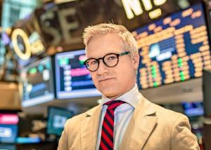 Fernsehmoderator an der Wall Street in New York: Markus Koch