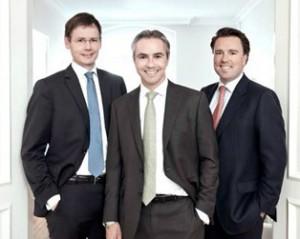 Astorius-Partner Frank Rohwedder, Thomas Weinmann und Julien Zornig
