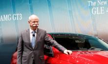 Dr. Dieter Zetsche, Vorstandsvorsitzender der Daimler AG und Leiter Mercedes-Benz Cars, beim Genfer Autosalon
