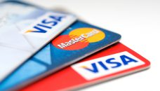 VISA and Mastercard credit card