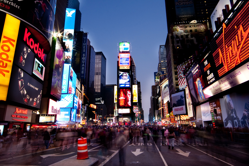 New York Times Square HYGH AG
